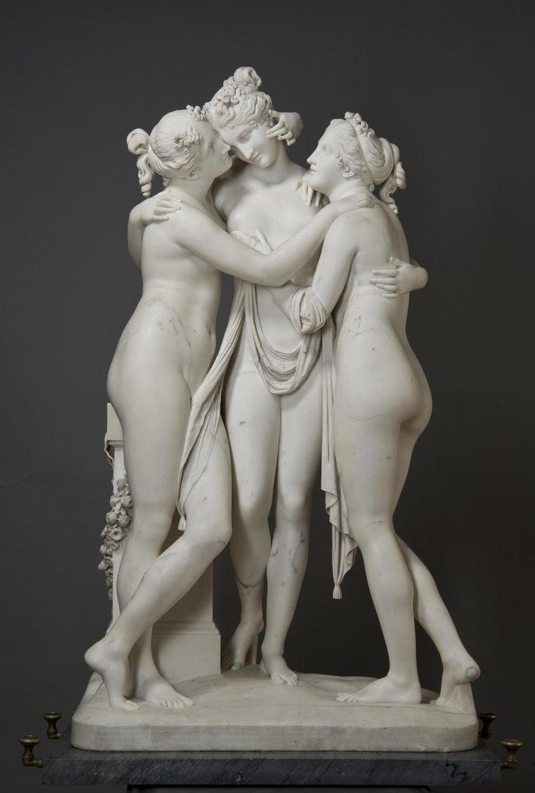 The Three Graces Icon (Antonio Canova) For Sale 8