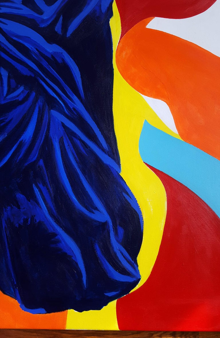 The Victory of Samothrace Icon (Yves Klein) For Sale 5