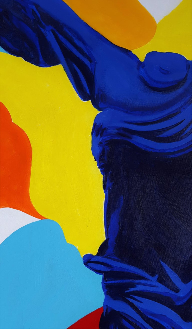 The Victory of Samothrace Icon (Yves Klein) For Sale 6