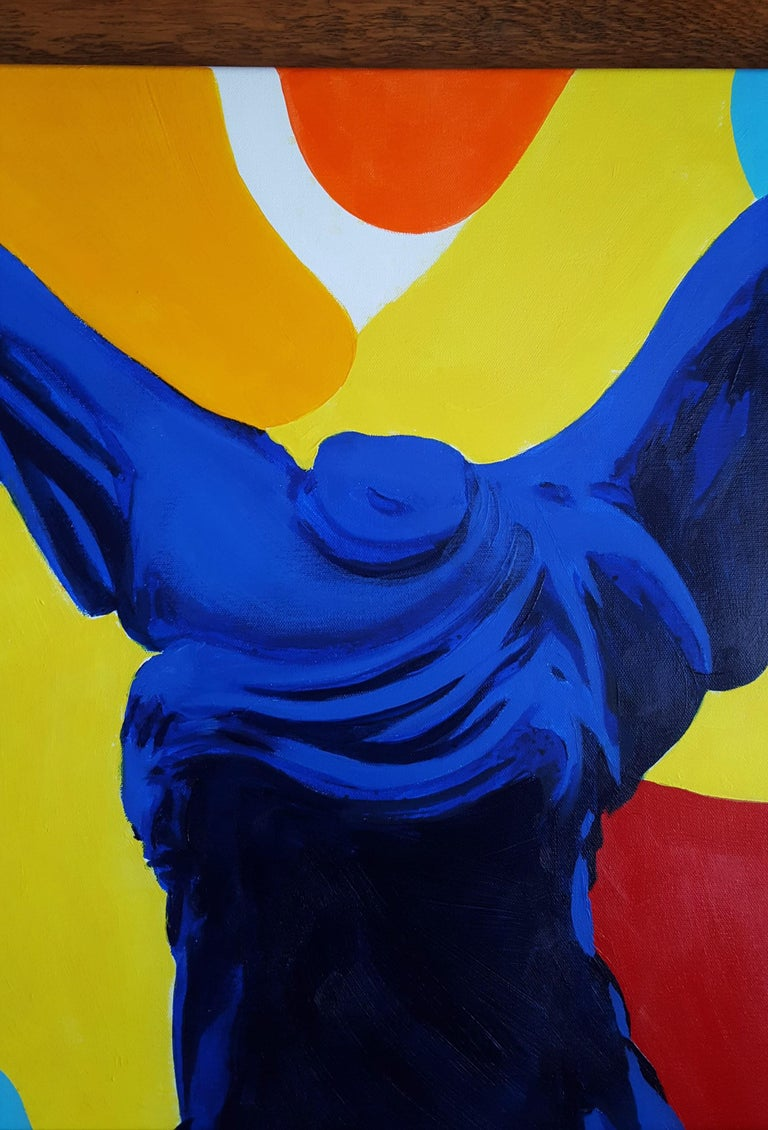 The Victory of Samothrace Icon (Yves Klein) For Sale 1