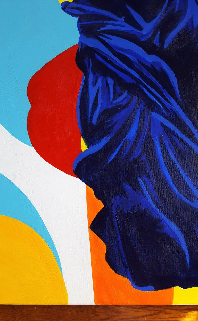 The Victory of Samothrace Icon (Yves Klein) For Sale 2