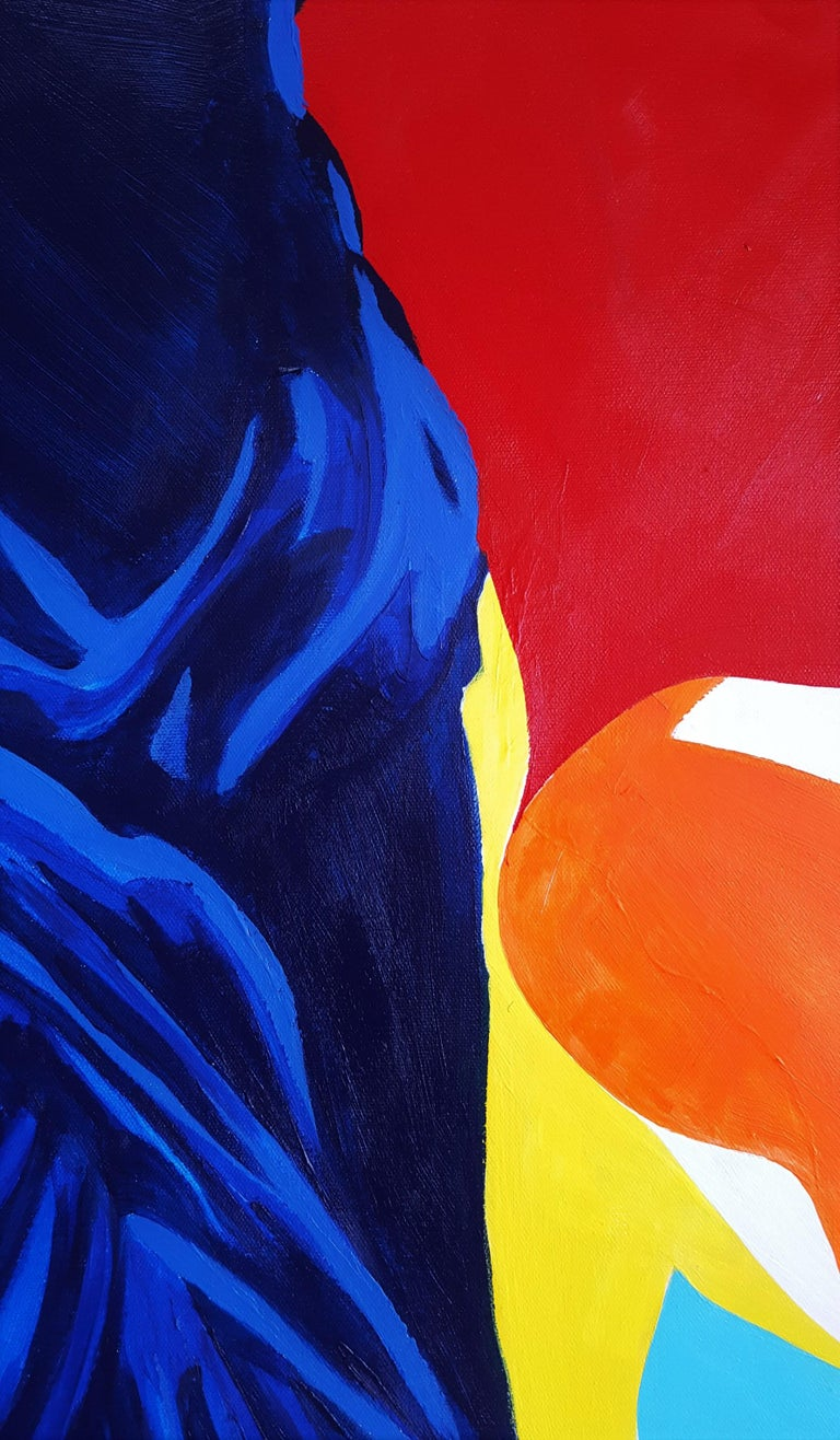 The Victory of Samothrace Icon (Yves Klein) For Sale 4