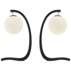 Jack Haywood Sculptural Table Lamps by Modeline