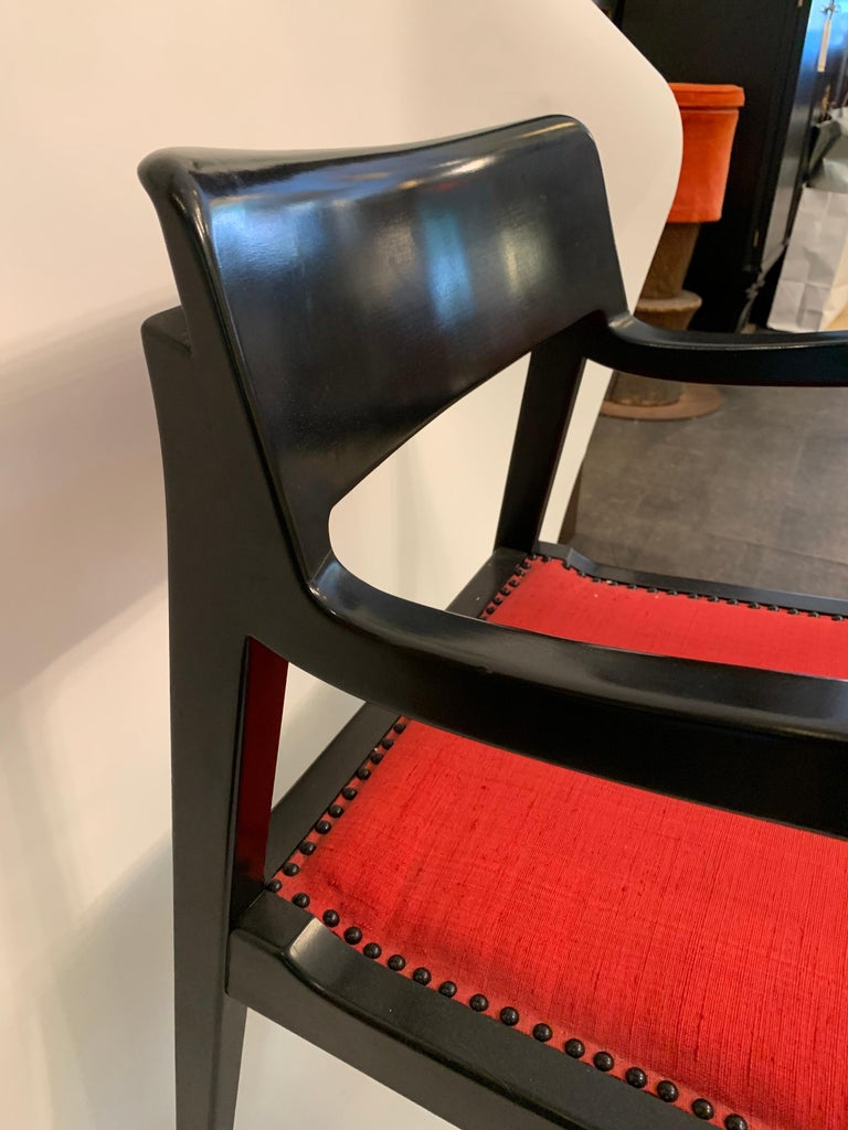 Late 20th Century Jack Lenor Larsen Chair by Riemerschmid, Signed For Sale