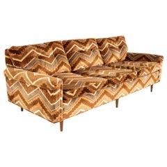Jack Lenor Larsen Style Mid Century Sofa