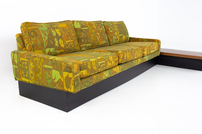 American Jack Lenor Larsen Style Milo Baughman for Thayer Coggin Mid Century Sectional S For Sale