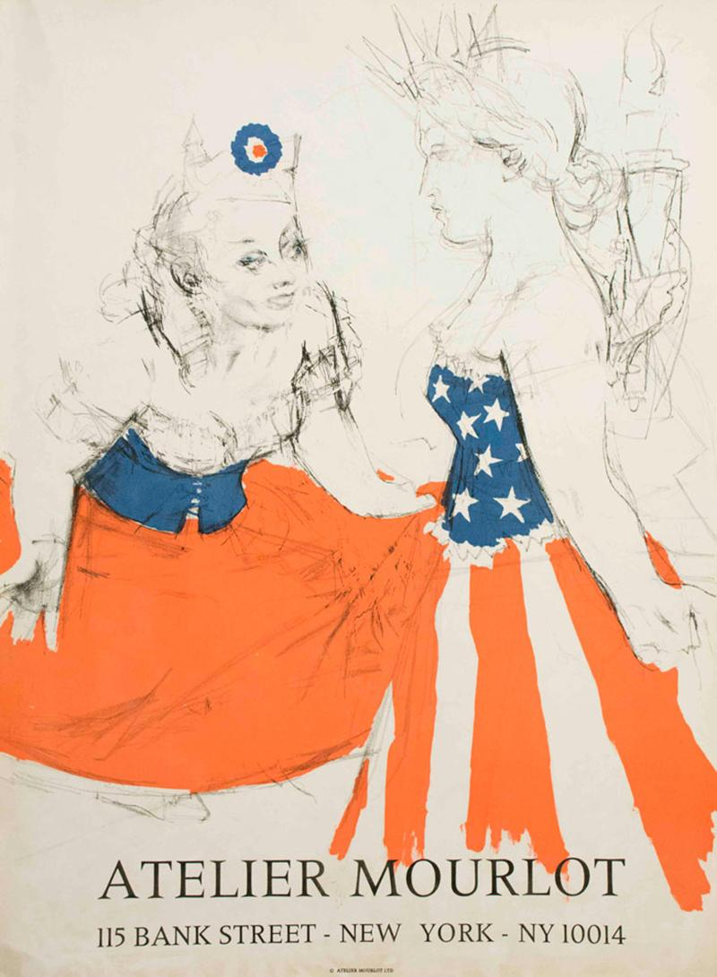 Atelier Mourlot, Marianne and the Goddess of Liberty