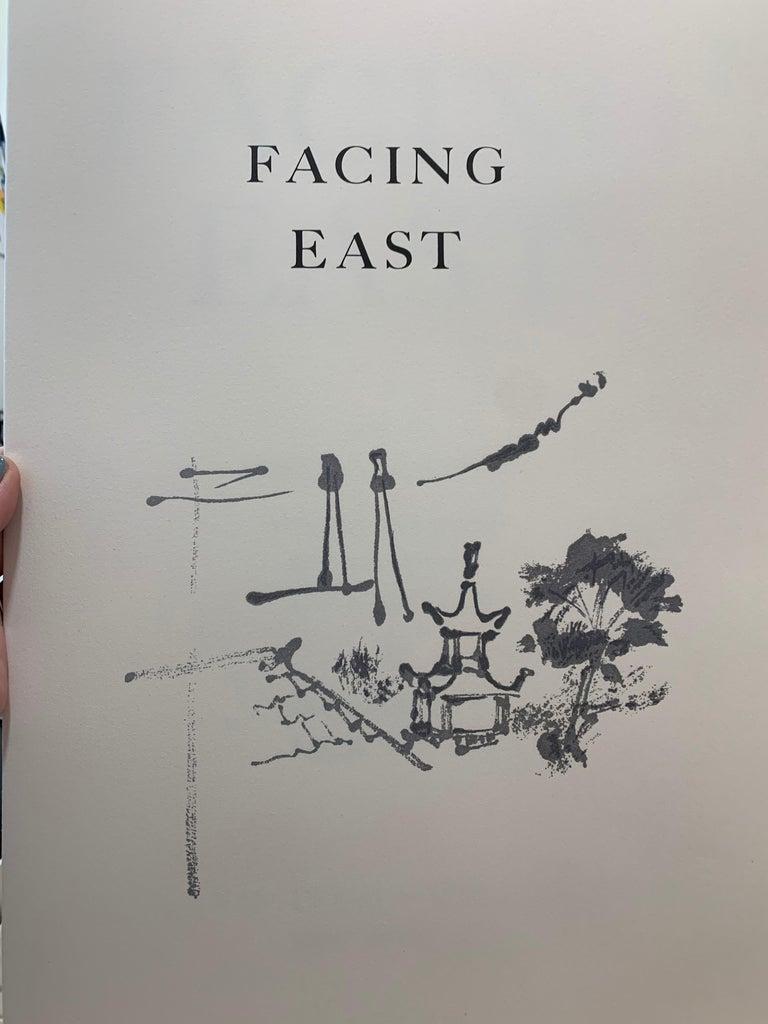 Facing East - Impressionist Print by Jack Levine