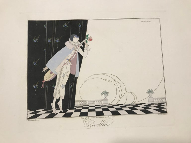 Signed by Michener and Levine at the limitation page. Their bold signatures are reproduced on the inside front cover of the clamshell box. This is copy 933 of 2500. Stunning folio set of drawings with text by James A. Michener and lithographs and