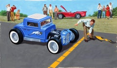 Ramrod 509, Vintage Car Illustration