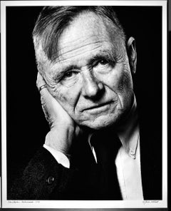 "16 x 20"" author Christopher Isherwood, studio portrait, signed by Jack Mitchell"