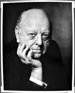 """16 x 20"""" Composer Virgil Thomson, signed by Jack Mitchell"""