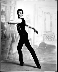 "16 x 20"" dancer Bruce Marks in ABT's 'Miss Julie', signed by Jack Mitchell"