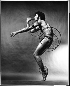 """16 x 20"""" Dancer/Choreographer Louis Falco in 'Timewright' signed by Mitchell"""