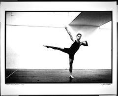 """16 x 20"""" Dancer/Choreographer Mikhail Baryshnikov, signed by Jack Mitchell"""