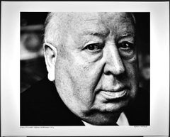 "16 x 20""  film director Alfred Hitchcock, signed by Jack Mitchell"