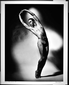 "16 x 20"" Finnish ballet dancer Mikko Nissinen performing, signed by Mitchell"
