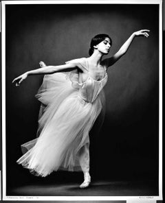 """16 x 20"""" prima ballerina Alessandra Ferri as """"Giselle"""", signed by Jack Mitchell"""