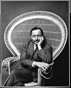 "16 x 20"" Pulitzer prize-winning playwright Tennessee Williams signed by Mitchell"