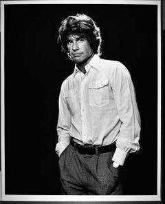 "16 x 20""  Warren Beatty, signed by Jack Mitchell"