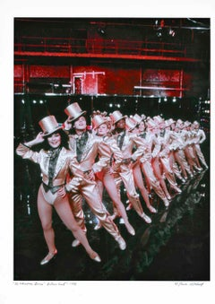 'A Chorus Line' movie cast Dance Magazine cover session, signed by Jack Mitchell