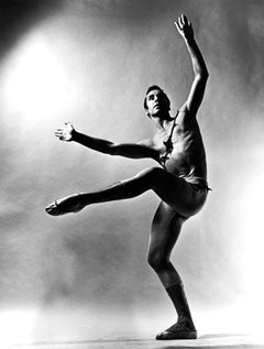 ABT Dancer Glen Tetley Performing 'Lady From The Sea', Signed by Jack Mitchell