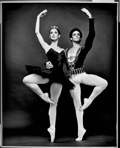 "ABT principal dancers Cynthia Gregory & Fernando Bujones, signed 16 x 20"""