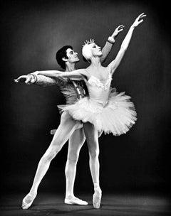 ABT principal dancers Cynthia Gregory & Fernando Bujones signed by Mitchell