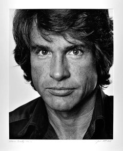 Academy Award-winning actor & director Warren Beatty, signed exhibition print