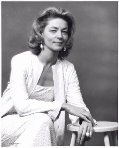 Academy Award-winning actress Lauren Bacall
