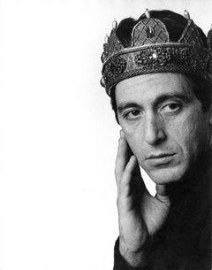 Actor Al Pacino starring as Richard III on Broadway