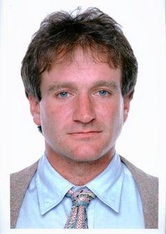 Actor and comedian Robin Williams, studio portrait