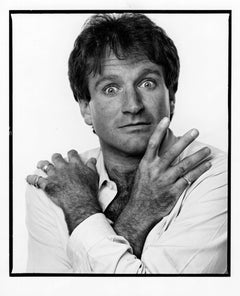 Actor/Comedian Robin Williams, 1984, signed by Jack Mitchell