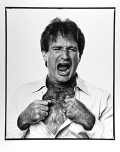 Actor Comedian Robin Williams (Crying Like A Baby)