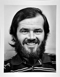 Actor Jack Nicholson, star of 'Easy Rider', 1969, by Jack Mitchell