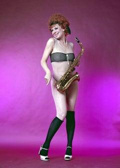 Actress & Dancer Gwen Verdon as Roxie Hart in Bob Fosse's  'Chicago' on Broadway