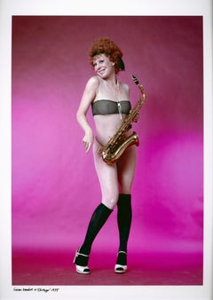 Actress & dancer Gwen Verdon as Roxy Hart in Bob Fosse's 'Chicago' on Broadway