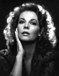 Actress Natalie Wood, iconic studio portrait, signed by Jack Mitchell