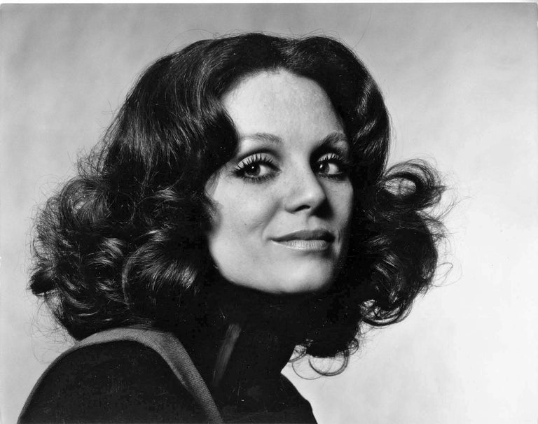 "11 x 14"" vintage silver gelatin photograph of Actress Valerie Harper, 1973. Signed by Jack Mitchell on the verso.  Comes directly from the Jack Mitchell Archives with a certificate of authenticity.   Jack Mitchell, (1925-2013) bulging photographic"