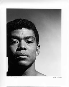 Alvin Ailey studio portrait, signed by Jack Mitchell