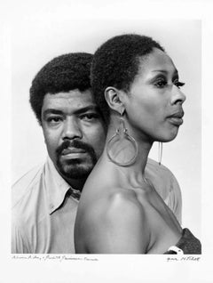 Alvin Ailey and Judith Jamison, 1976. Signed by Jack Mitchell