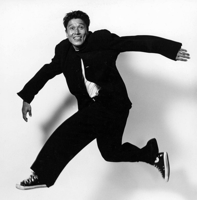 Alvin Ailey dancer & Associate Artistic Director Masazumi Chaya - Photograph by Jack Mitchell