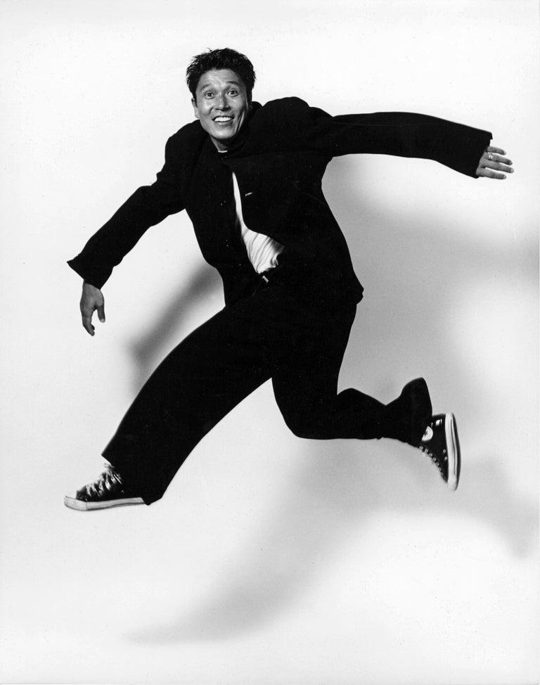 Jack Mitchell Black and White Photograph - Alvin Ailey dancer & Associate Artistic Director Masazumi Chaya