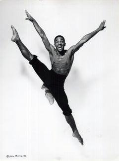 Alvin Ailey dancer Aubrey Lynch II performing 'District Storyville'