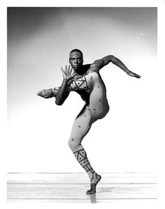 Alvin Ailey dancer David St. Charles performing 'Hidden Rites'