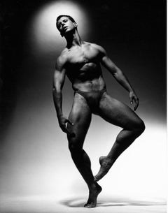Alvin Ailey dancer Jonathan Reisling, signed by Jack Mitchell