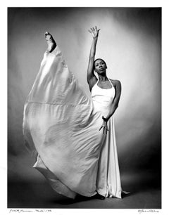 Alvin Ailey dancer Judith Jamison Performing 'Facets', Signed by Jack Mitchell