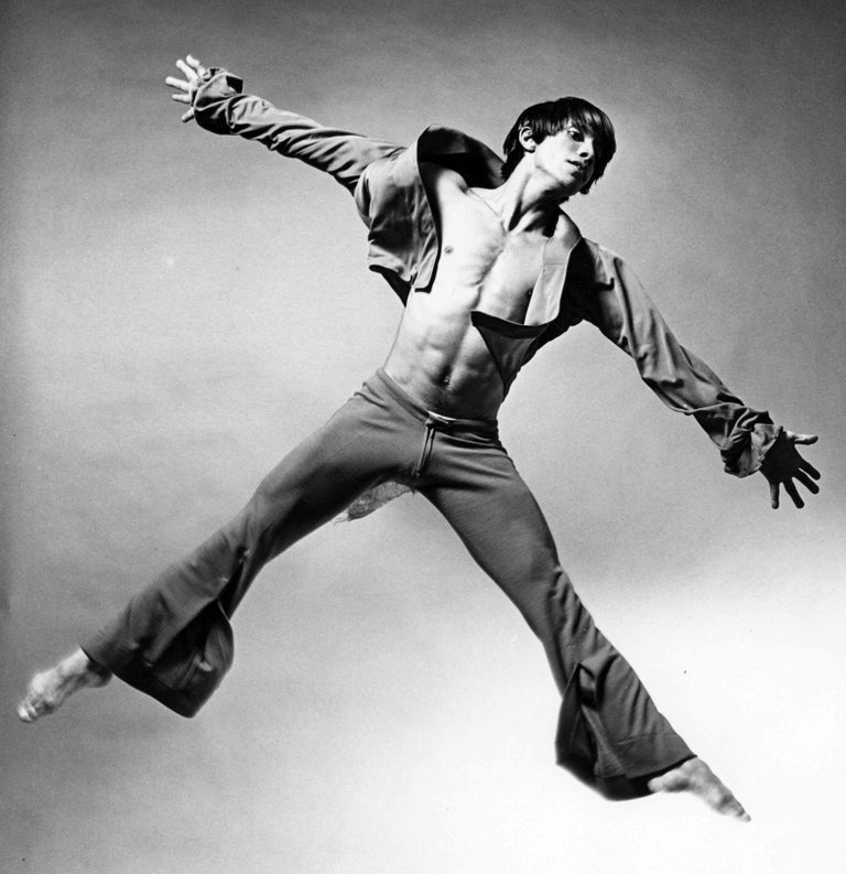 Alvin Ailey dancer Miguel Godreau performing Prodigal Prince' - Photograph by Jack Mitchell