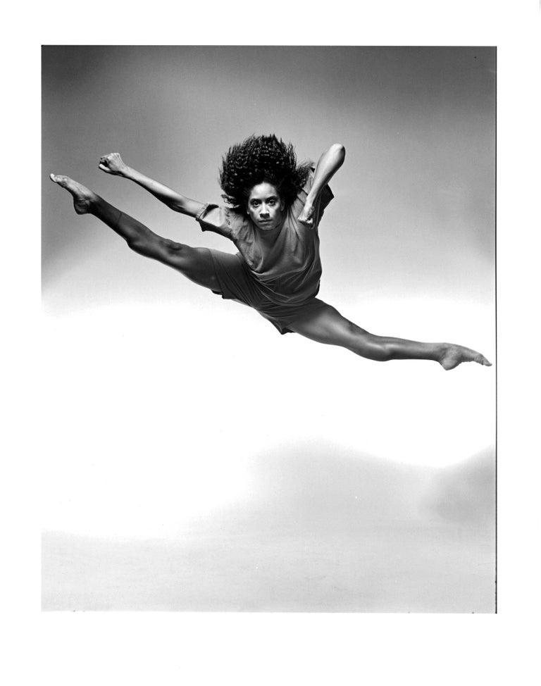Jack Mitchell Black and White Photograph - Alvin Ailey dancer Toni Pierce