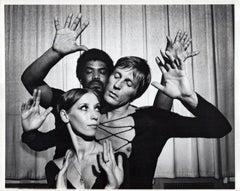Alvin Ailey, Erik Bruhn, and Natalia Makarova in 'The River'